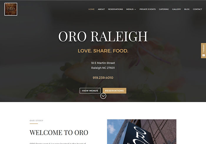 ORO RALEIGH