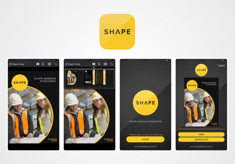 SHAPE Minimum Standards Mobile App