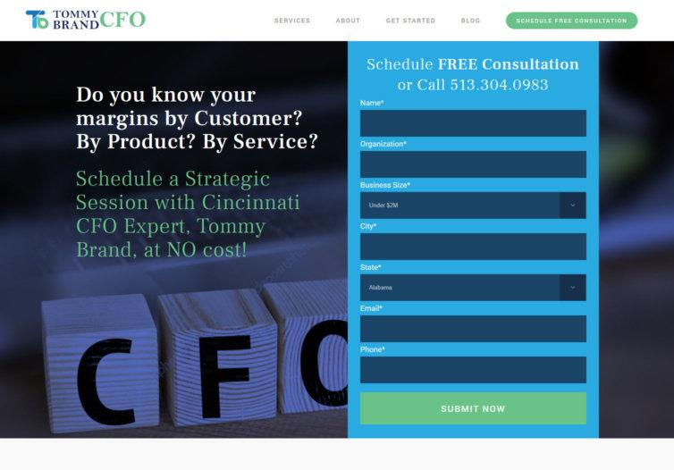 Tommy Brand CFO