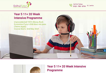 Year 5 Programme – SolihullTuition